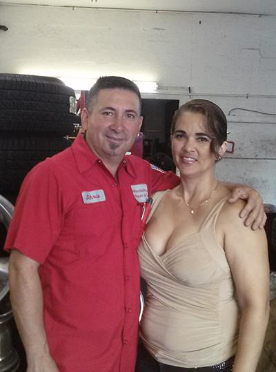 Silvio & Terry Delgado