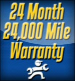 24 Mile 2 Year Warranty, Country Club Automotive, Loomis, CA, 95650