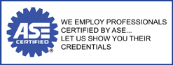 ASE We Employ, Joe's Foreign Automotive, Walnut Creek, CA, 94597