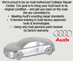 Audi Collision Center, European Paint & Body II, West Palm Beach, FL, 33409