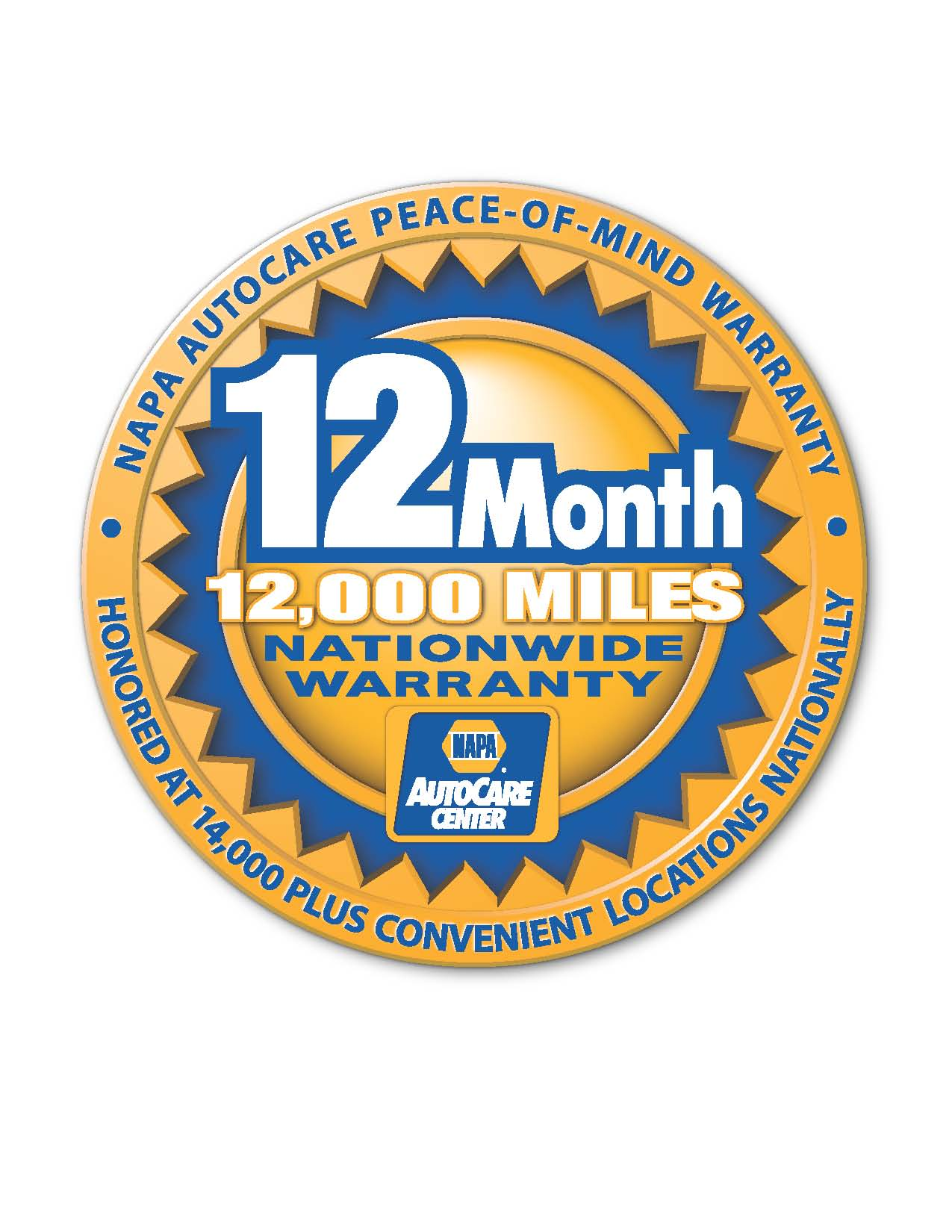 12 month/12,000 Napa, Accurate Automotive, Ormond Beach, FL, 32176