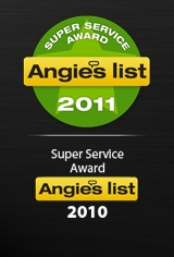 Angie's List 2011 award, Superior Automotive Service, Elk Grove, CA, 95624