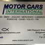 Motor Cars International Inc. European Repair, Bridgewater MA, 02324, Audi Repair, Mercedes Repair, Rover Repair, BMW Repair and Mini Repair