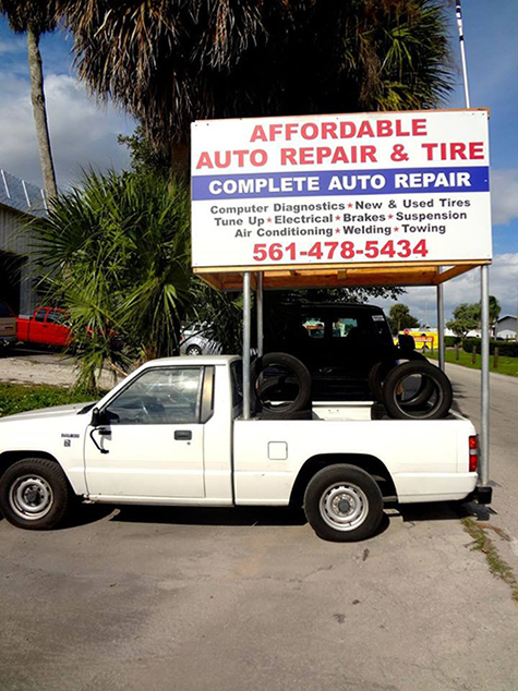 Affordable Auto Repair Tires Auto Repair West Palm Beach Fl