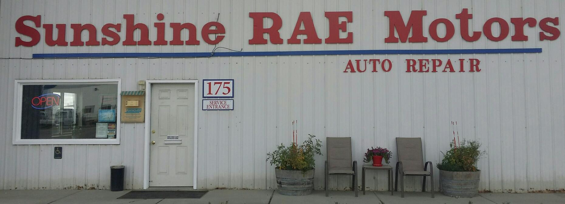 Sunshine Rae Motors, Fairbanks AK, 99701, Auto Repair, Engine Repair, ...