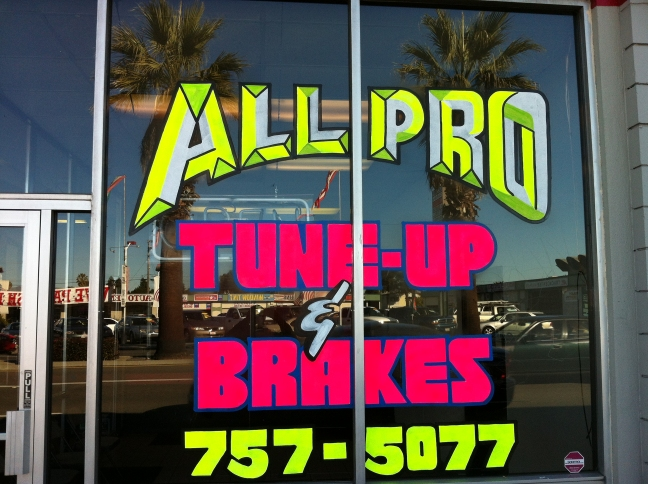 All Pro Tune Up And Brake, San Jose CA, 95125, Auto Repair, Auto Tune Up, Wheel Alignment, Brake Repair and Tire Sales and Repair