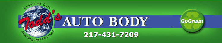Todd's Auto Body, Tilton IL, 61833, Auto Body Repair, Collision Repair, Dent Removals, Auto Paint Work and Deductible Reductions