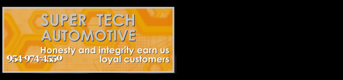 Super Tech, Margate FL, 33063, Auto Repair, Engine Repair, Brake Repair, Custom Mufflers and Auto Electrical Service