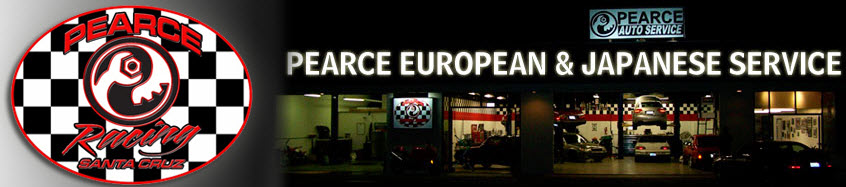 Pearce European And Japanese Auto Service, Santa Cruz CA, 95062, Auto Repair, Brake Repair, Transmission Repair, Audi Repair and Saab Repair
