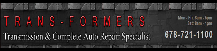 Trans-Formers Transmissions II, Cartersville GA, 30120, Transmission Repair, Auto Repair, Engine Repair, A/C Repair and auto Tune-Up